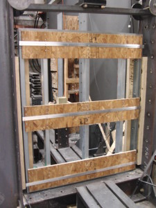 Figure 7: Test Set-up 2 – Wall Mount