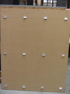Figure 8: Test Set-up 2 – Panel Rear Side