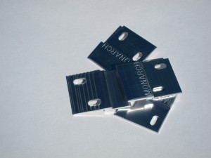 Panel Clips made by Monarch Metal with vertical slots