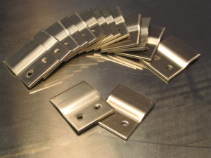 """Stainless Z Clips can come from Monarch in 1.5"""" Clips or 48"""" Lengths"""