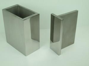 Polished Sharp Corner Stainless