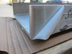 Brushed Finish - Stainless Channel