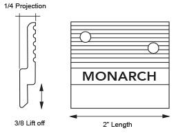 Monarch Metal Z Clip MF375
