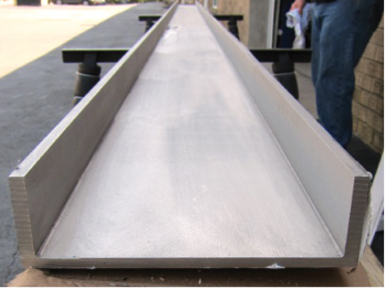 Monarch Metal Architectural Metal - Stainless Sharp Corner Channel-2