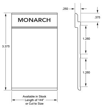 Monarch Metal Z Clip MFTAPE
