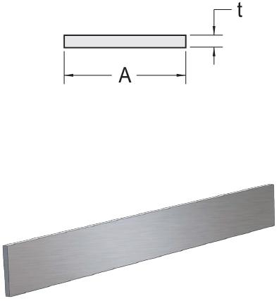 Monarch Metal Architectural Metal - Aluminum Flat Bar