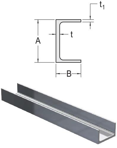 Monarch Metal Architectural Metal - Aluminum Association Aluminum Channel