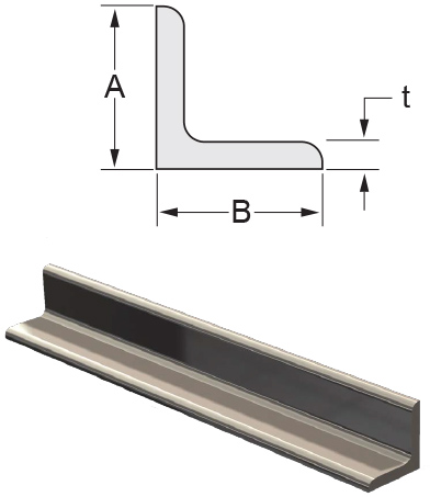 Monarch Metal Architectural Metal - Equal & Unequal Leg Stainless Steel Angle