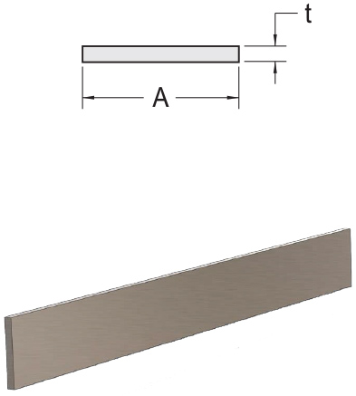 Monarch Metal Architectural Metal - Stainless Steel Flat Bar