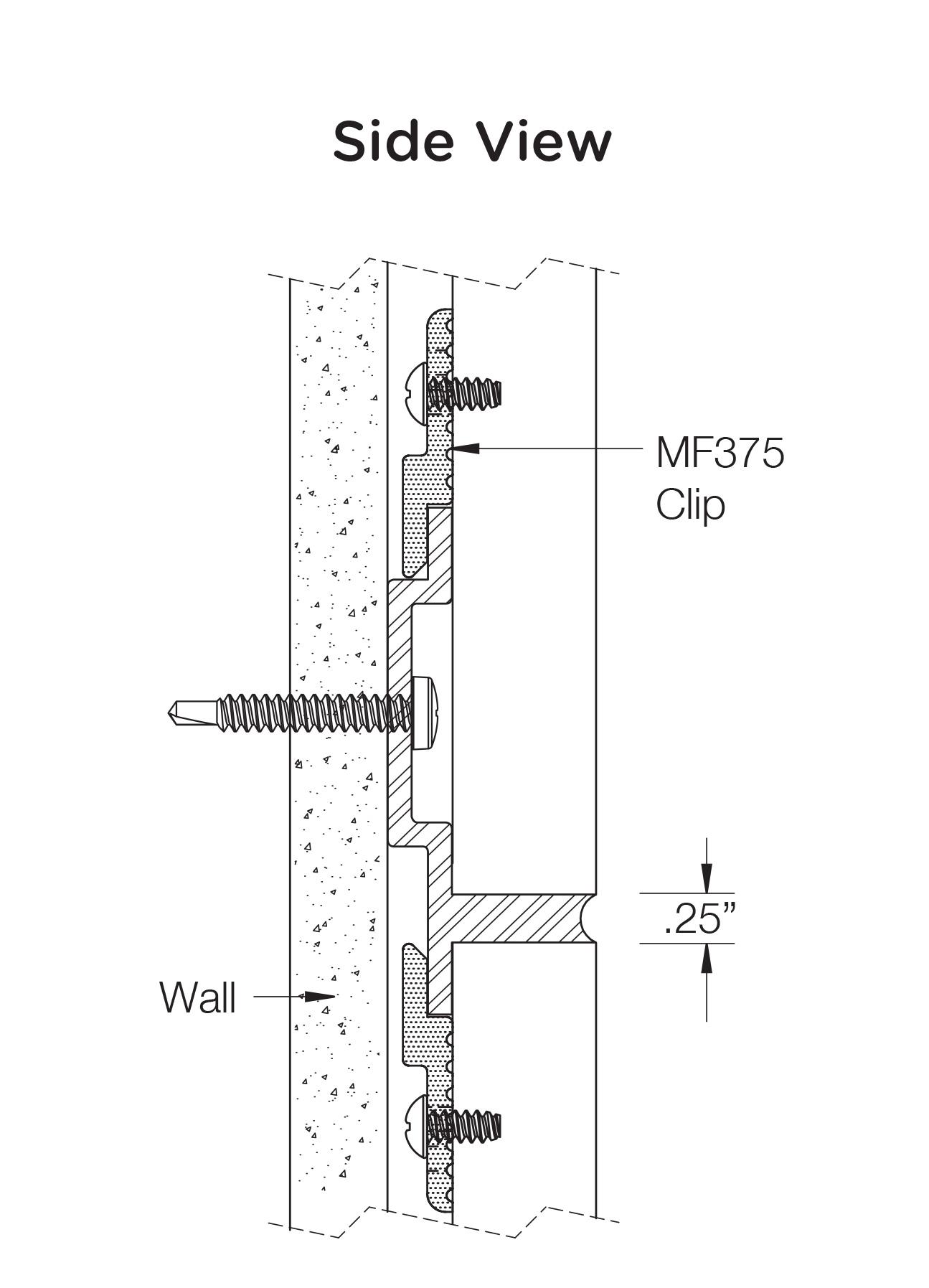 Monarch Metal Wall Panel System - EPS-H075-B