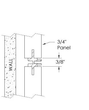 Monarch Metal Wall Panel System - EPS-V075-NC or EPS-V039-NC