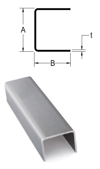 Monarch Metal Architectural Metal - Fabricated Stainless Steel Channel