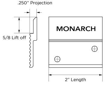Monarch Z Clip MFTH-625