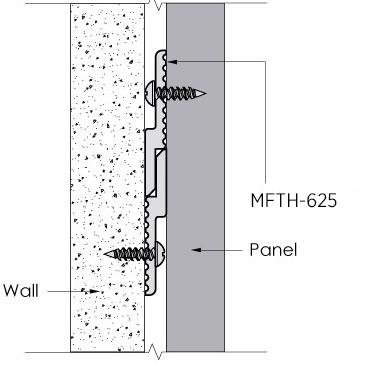 Monarch Metal Z Clip MFTH-625