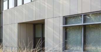 Monarch Metal Cladding and Rain Screen Systems - TAKTL Panel Installation