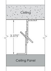 Monarch Metal Ceiling System MFCEIL-S